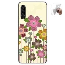 Funda Gel Tpu para Samsung Galaxy A90 5G diseño Primavera En Flor Dibujos