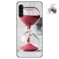 Funda Gel Tpu para Samsung Galaxy A90 5G diseño Reloj Dibujos