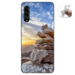 Funda Gel Tpu para Samsung Galaxy A90 5G diseño Sunset Dibujos