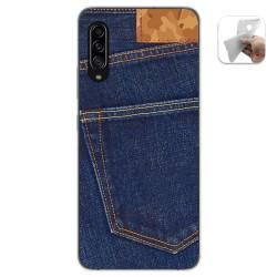 Funda Gel Tpu para Samsung Galaxy A90 5G diseño Vaquero Dibujos