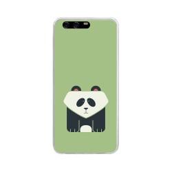 Funda Gel Tpu para Huawei P10 Diseño Panda Dibujos