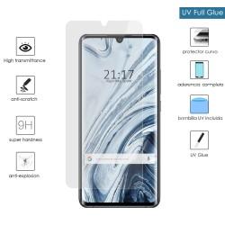 Protector Cristal Templado Completo Curvo UV Full Glue para Xiaomi Mi Note 10