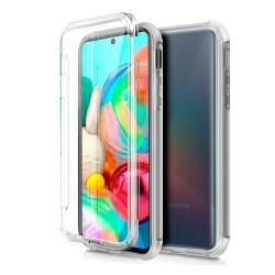 Funda Completa Transparente Pc + Tpu Full Body 360 para Samsung Galaxy A71