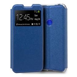 Funda Libro Soporte con Ventana para Xiaomi Redmi Note 8T Color Azul