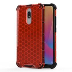 Funda Tipo Honeycomb Armor (Pc+Tpu) Roja para Xiaomi Redmi 8 / Xiaomi Redmi 8A