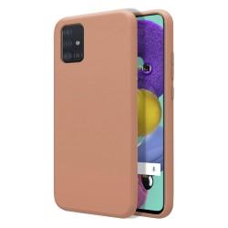 Funda Silicona Líquida Ultra Suave para Samsung Galaxy A51 color Rosa