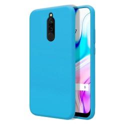 Funda Silicona Líquida Ultra Suave para Xiaomi Redmi 8 color Azul