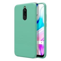Funda Silicona Líquida Ultra Suave para Xiaomi Redmi 8 color Verde