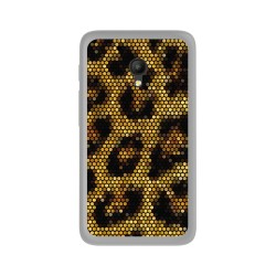 "Funda Gel Tpu para Orange Rise 51 / Alcatel Pixi 4 (5"") 4G / Vodafone Turbo 7 Diseño Leopardo Dibujos"