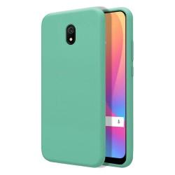 Funda Silicona Líquida Ultra Suave para Xiaomi Redmi 8A color Verde