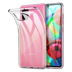Funda Gel Tpu Fina Ultra-Thin 0,5mm Transparente para Samsung Galaxy A71