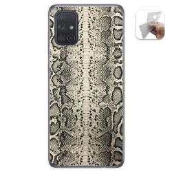 Funda Gel Tpu para Samsung Galaxy A71 diseño Animal 01 Dibujos