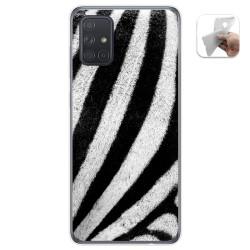 Funda Gel Tpu para Samsung Galaxy A71 diseño Animal 02 Dibujos