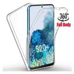 Funda Completa Transparente Pc + Tpu Full Body 360 para Samsung Galaxy S20+ Plus
