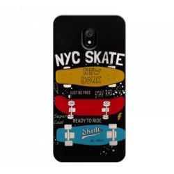 Funda Gel 2 Piezas con Impresión en Relieve Skate para Xiaomi Redmi 8 / 8A