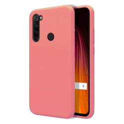 Funda Silicona Líquida Ultra Suave para Xiaomi Redmi Note 8T color Rosa
