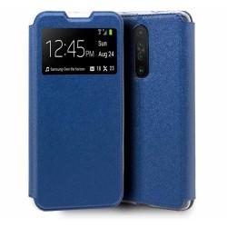 Funda Libro Soporte con Ventana para Xiaomi Pocophone POCO X2 Color Azul