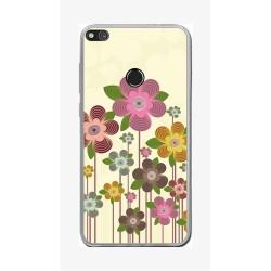 Funda Gel Tpu para Huawei P8 Lite 2017 Diseño Primavera En Flor Dibujos