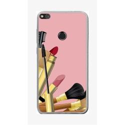 Funda Gel Tpu para Huawei P8 Lite 2017 Diseño Brochas Dibujos