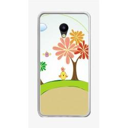 """Funda Gel Tpu para Meizu M5 5.2"""" Diseño Primavera Dibujos"""