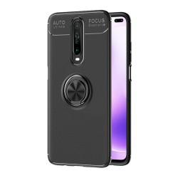 Funda Magnetica Soporte con Anillo Giratorio 360 para Xiaomi Pocophone POCO X2 Negra