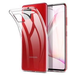 Funda Gel Tpu Fina Ultra-Thin 0,5mm Transparente para Samsung Galaxy Note 10 Lite