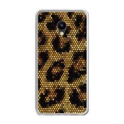 Funda Gel Tpu para Meizu M5 Note Diseño Leopardo Dibujos