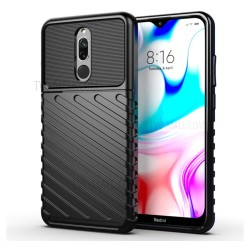 Funda Gel Flexible Thunder Armor Rugged para Xiaomi Redmi 8 color Negra