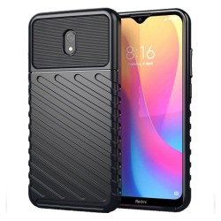 Funda Gel Flexible Thunder Armor Rugged para Xiaomi Redmi 8A color Negra
