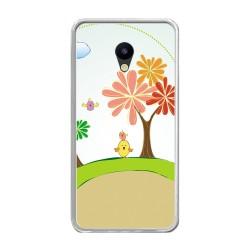 Funda Gel Tpu para Meizu M5 Note Diseño Primavera Dibujos