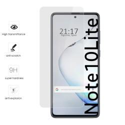 Protector Cristal Templado para Samsung Galaxy Note 10 Lite Vidrio