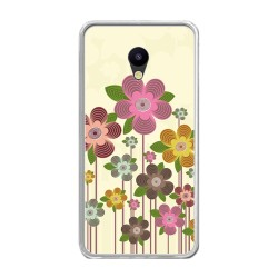 Funda Gel Tpu para Meizu M5 Note Diseño Primavera En Flor Dibujos