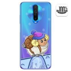 Funda Gel Transparente para Xiaomi Pocophone POCO X2 diseño Cabra Dibujos