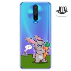 Funda Gel Transparente para Xiaomi Pocophone POCO X2 diseño Conejo Dibujos