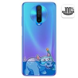 Funda Gel Transparente para Xiaomi Pocophone POCO X2 diseño Hipo Dibujos