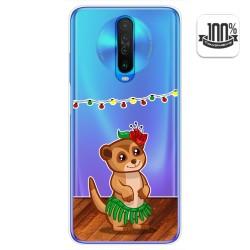 Funda Gel Transparente para Xiaomi Pocophone POCO X2 diseño Suricata Dibujos