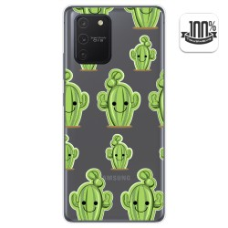 Funda Gel Transparente para Samsung Galaxy S10 Lite diseño Cactus Dibujos