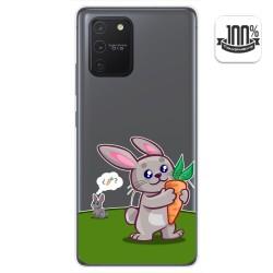 Funda Gel Transparente para Samsung Galaxy S10 Lite diseño Conejo Dibujos