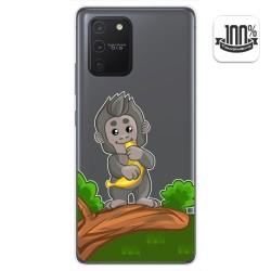 Funda Gel Transparente para Samsung Galaxy S10 Lite diseño Mono Dibujos