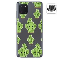 Funda Gel Transparente para Samsung Galaxy Note 10 Lite diseño Cactus Dibujos