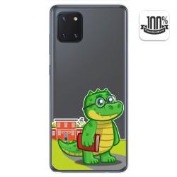 Funda Gel Transparente para Samsung Galaxy Note 10 Lite diseño Coco Dibujos