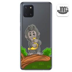 Funda Gel Transparente para Samsung Galaxy Note 10 Lite diseño Mono Dibujos