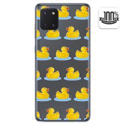 Funda Gel Transparente para Samsung Galaxy Note 10 Lite diseño Pato Dibujos