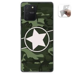 Funda Gel Tpu para Samsung Galaxy S10 Lite diseño Camuflaje 01 Dibujos