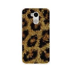 Funda Gel Tpu para Xiaomi Redmi 4 Pro Diseño Leopardo Dibujos