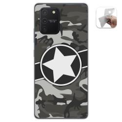 Funda Gel Tpu para Samsung Galaxy S10 Lite diseño Camuflaje 02 Dibujos