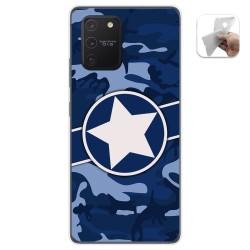 Funda Gel Tpu para Samsung Galaxy S10 Lite diseño Camuflaje 03 Dibujos