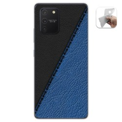 Funda Gel Tpu para Samsung Galaxy S10 Lite diseño Cuero 02 Dibujos