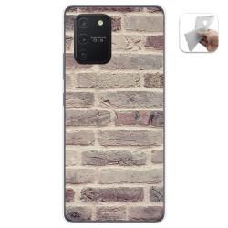 Funda Gel Tpu para Samsung Galaxy S10 Lite diseño Ladrillo 01 Dibujos
