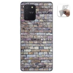 Funda Gel Tpu para Samsung Galaxy S10 Lite diseño Ladrillo 02 Dibujos